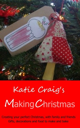 Making Christmas a book by Katie Craig