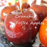 Crunchy Toffee Apples