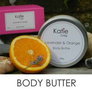 Natural & Organic Body Butter - Cruelty free from Katie Craig