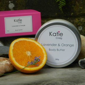 body butter lavender and orange