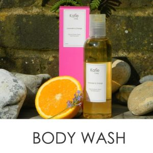 Natural & Organic Body Wash - Cruelty free from Katie Craig
