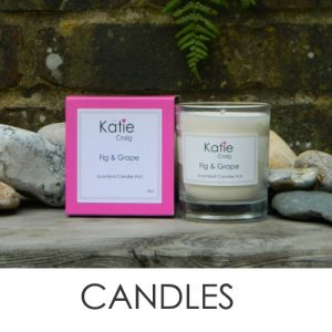 Soya Based and Cruelty free candles from Katie Craig