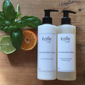 Lime Mandarin & Basil Hand & Body Set