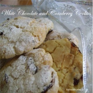 White Chocolate Cookies by Katie Craig