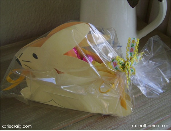 How to Make an Easter Bunny Gift Box