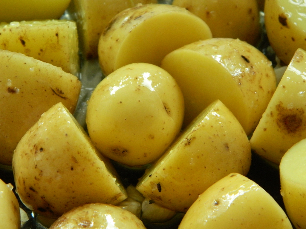 Katie Craig Roasted New Potatoes