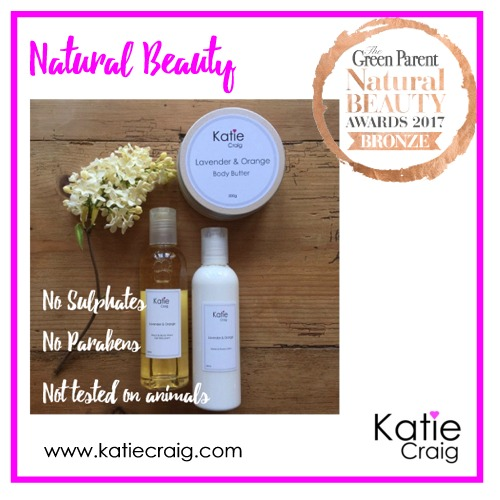 Our Body Butter a Winner with The Green Parent Beauty Awards